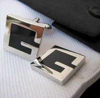 Letter G Shirt cuff Cufflinks cuff links  drop shipping for men's gift