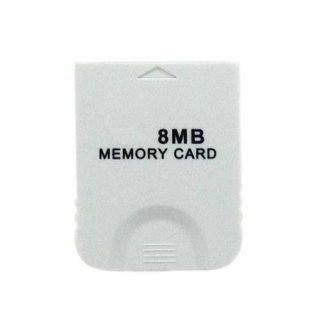 Freeshipping wholesale 8MB 8 MB MEMORY CARD FOR NINTENDO WII GAMECUBE GAME