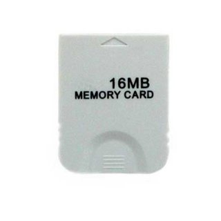 Freeshipping wholesale Block 16 MB Memory Card for Wii Gamecube