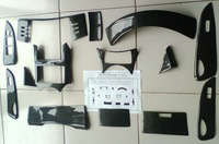 Toyota Reiz - carbon fiber interior parts-3D stickers