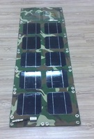 guaranteed 100% water proof camo fabric portable solar charging panel
