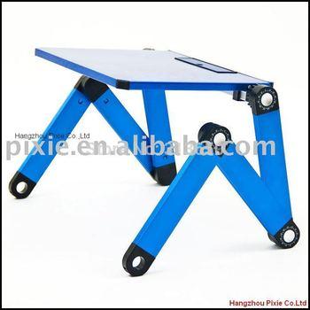 t3 blauwe vouwen laptoptafel opvouwbaar tabel opvouwbare laptop bureau vouwen notebook tafel tekentafel stand officestandtable