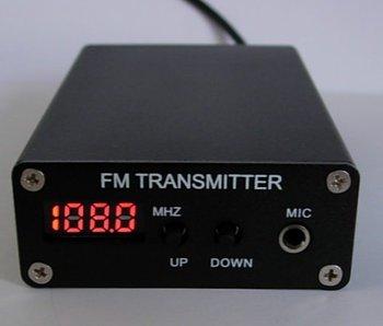 500MW FM Transmitter + Power Supply mini FM Radio Station