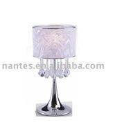 modern crystal table lamp