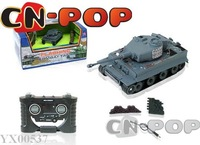 RC battle tank infrared battle tank radio remote control tanks toys 1:70 free shipping 6pcs/lot