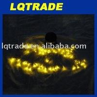 24 PCS Festival Decoration Lights/Solar Energy Lamp String 60LED yellow light 0.36W