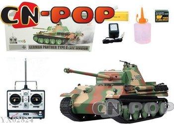 rc tank free shipping 1:16 RC tank German Panther G-type heavy smoke sound radio remote control tanks toys