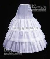 Wholesale and retail white - new BRIDAL OWN DRESS CRINOLINE PETTICOAT SKIRT SLIP