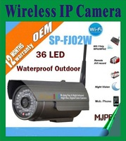Wireless 36 LED Infrared 25M WIFI Waterproof cctv camera