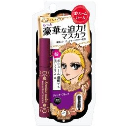 Wholesale Hot New Makeup kiss me Waterpoor Mascara 6g free shipping (20pcs/lot)+gift(China (Mainland))