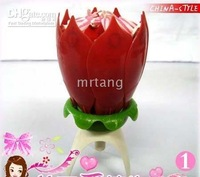 Chinese Style Music Fireworks Candle Magic Birthday Candle Candle light For Birthday Gift 6pcs/lot