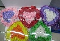 paper flower petals soap