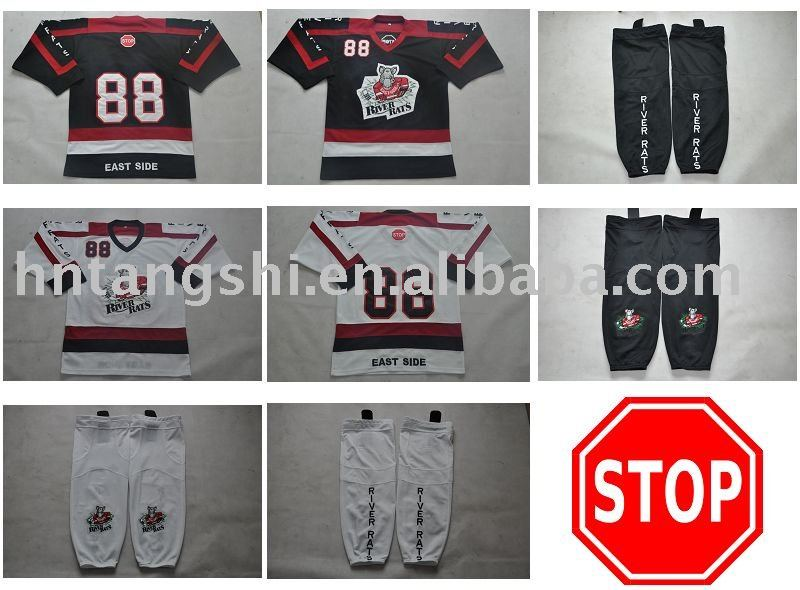 Custom Team Uniforms hockey jerseys according your design good quality good service(China (Mainland))