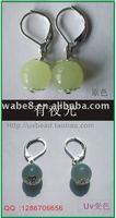 uv and glow earring