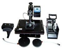Combo Heat Press Machine 5 in 1,heat press machine,mug/cap/plate/T-shirt press machine,heat transfer machine,sublimation machine