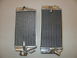 oversize aluminum radiator for HONDA CRF450R CRF450 CRF 450 02(China (Mainland))