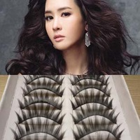 100%handmade 10pairs per box free shipping best selling fake eyelash