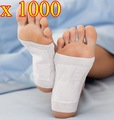 1000 pcs/lot New Detox Foot Pad Patch & Adhesive Sheets DHL Shipping
