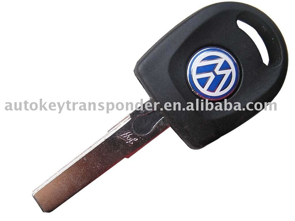 VW Transponder Key with Light 48(China (Mainland))