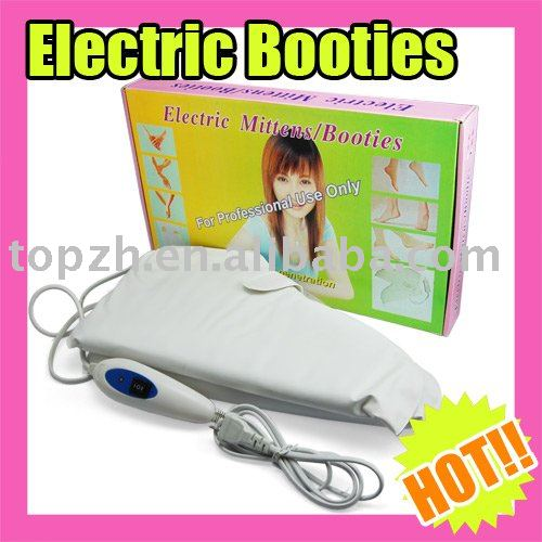 Best Selling Fast Shipping Electric Booties Heated Feet Warmer Pedicure Spa C106(China (Mainland))