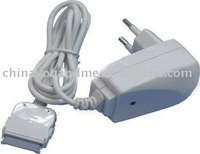 USB Wall Charger Adaptor with cable for iphone 3G 3GS 4G EU plug ,50pcs/lot