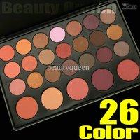 Pro 26 Color Eye Shadow Eyeshadow Blush Pallete Set Warm Nude Concealer Contour Makeup Cosmetics Kit