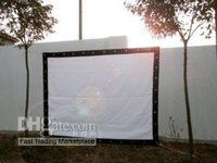 150 feet 16:9  Projection PROJECTOR material, projector movie screen you can choose the size fast shipment