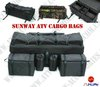 2011 New Model Sunway Free shipping ATV Cargo Bags,ATV Cooling Bags,ATV Luggage Bags,Quad Bags(Black)