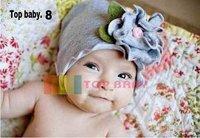 HOT TOP BABY HATS!! 100%Cotton Children's hat infant Hat Various 17 Styles Baby  Beanie cap  Kids Flower cap