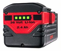 HILTI 36V CPC LITHIUM-ION BATTERY 2.4Ah FOR TE 6-A WSR 36-A