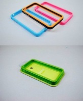whole new Plastic Bumper for iphone 4G cases With metal buttons for volume and power,unique way to personalize for iPhone 4