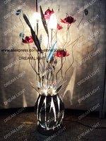 floor light/ aluminum art floor lamp/ D300*H1500mm/ decorative light+free shipping
