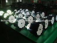 white color led par 64 stage lighting& free shipping