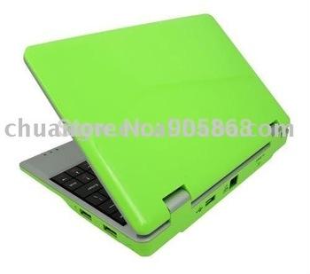 Free shipping 7.0 Inch Mini WIFI Laptop VIA8650 ARM 32bit 300MHz Processor Windows CE 6.0 System free ship SG post