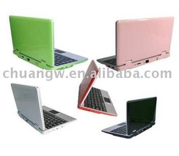 5 Colors for choose  7.0 Inch Mini WIFI Laptop VIA ARM 32bit 300MHz Processor Windows CE 6.0 System free ship SG post