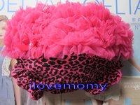 Wholesale- Sample baby pants 2011 New fashion pettiskirt Leopard pants Baby Ruffle Bloomer 36pcs/lot