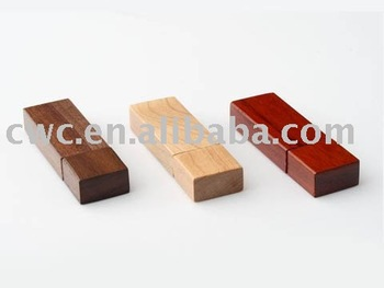 free shipping wooden 8gb usb memory