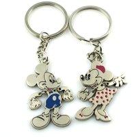 wholeale 12pair metal keyring/key chain/metal key holder/key ring/keychain + free shipping