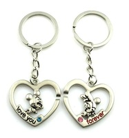 wholeale buy 10pair +1 free metal keyring/key chain/metal key holder/key ring/ keychain + free shipping