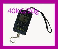 10pcs free shipping 40kg x 10g Electronic Portable Digital Scale lb oz kg