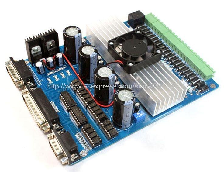 Контроллер ШД для 4-х осевого