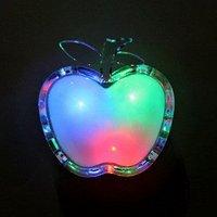 Hot selling APPLE night light power saving apple light 80pcs/lot free shipping