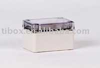 W65XH 95XD55MM/IP66/CLEAR COVER/PLASTIC ENCLOSURE/PLASTIC BOX/DISTRIBUTION BOX/WATERPROOF BOX