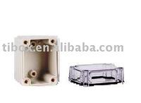 W50XH60XD55MM/IP66/CLEAR COVER/PLASTIC ENCLOSURE/PLASTIC BOX/DISTRIBUTION BOX/WATERPROOF BOX