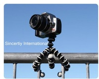 10 pcs/lot Medium Travel Flexible Octopus Tripod (Grey Black) for cameras,camcorders,SLR,SLRs,DLSR