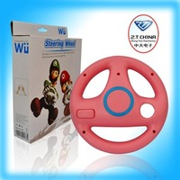 Free shipping of hot item for Wii Racing wheel Pink blue white black pink five color to choice 6010013S7PA