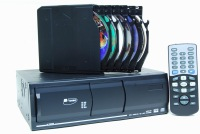 New 6 Disc changer DVD/VIDEO/CD/MP3/MP4  Color: Black ---Yotoon