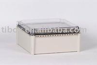 W280XH280XD130MM/CLEAR COVER/IP66/WATERPROOF ENCLOSURE/PLASTIC BOX/DISTRIBUTION BOX/TIBOX/FIBOX/HIBOX/WATERPROOF BOX