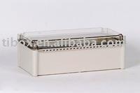 W280XH190XD130MM/CLEAR COVER/IP66/WATERPROOF ENCLOSURE/PLASTIC BOX/DISTRIBUTION BOX/TIBOX/FIBOX/HIBOX/WATERPROOF BOX