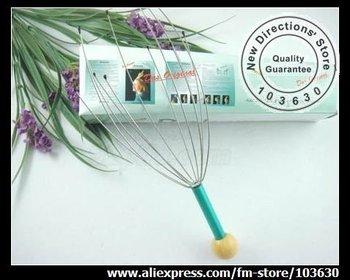 40pcs/lot, free shipping, handy head massager/manual head massgaer/scalp massager, good price/good sale